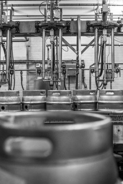 Adnams Brewery beczki piwa