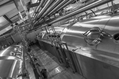 Adnams Brewery fermentacja zbiorniki